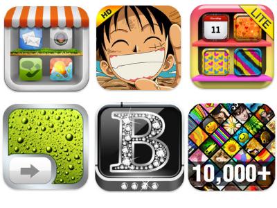 6 款 iPhone 桌布 App,用海賊王、七龍珠打造個性桌面