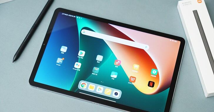 小米平板 5 開箱評測!大尺寸的 Android 平板搭配觸控筆一起來了