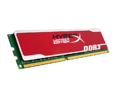 Kingston HyperX 閃電紅限量版:記憶體超頻新選擇