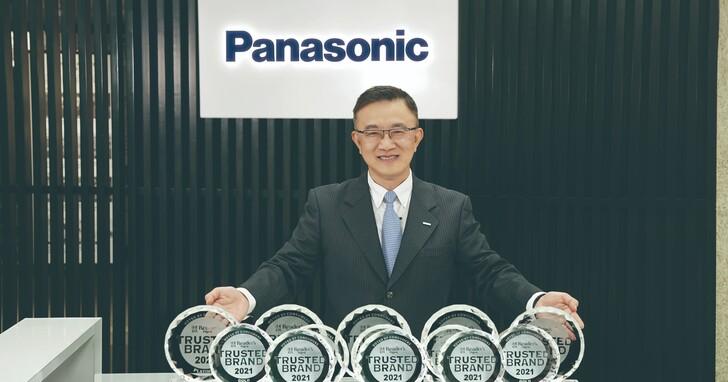 感謝有您,成就不凡!Panasonic唯一蟬聯5座白金獎