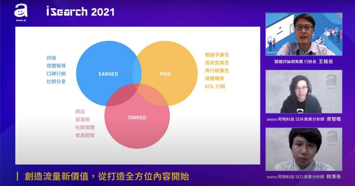 iSearch 2021搜尋行銷年會盛登場,邁向行銷5.0新時代