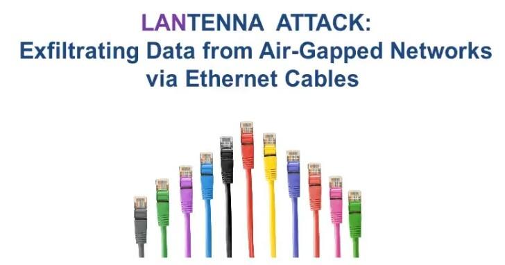 班·古里安大學數位安全研究中心提出LANtenna隔空竊取資料的研究