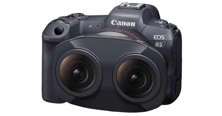 Canon 這顆像「瓦力」的鏡頭,可以讓你錄製 180 度 VR 影片