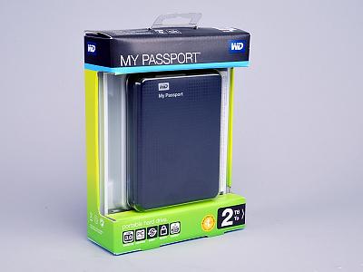 WD My Passport 隨身硬碟實測,2TB 海量、支援 USB 3.0