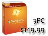 Windows 7家庭包,每台電腦只要1,700元