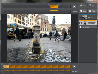 DIY 局部會動的照片,微軟推出 Cliplets 軟體,怎麼用看過來