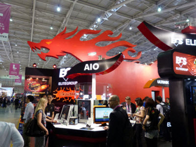 Computex 2012:精英 G24 可彩繪 AIO 與 Z77 黃金主機板
