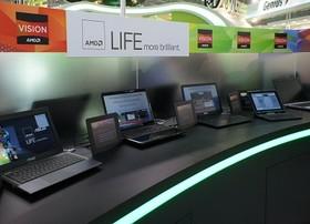 Computex 2012:AMD Trinity APU 筆電亮相,也有平板電腦加鍵盤組合