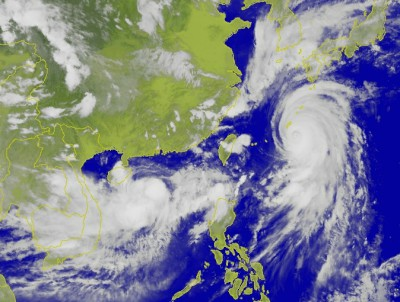 颱風別怕!中央氣象局鄉鎮逐時天氣預報很精確,也有氣象 App