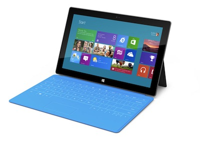 Microsoft Surface 平板亮相,Windows 8 平板春天來了