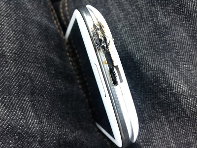 Samsung Galaxy S3 也出現火燒機!這回是由車充引起的
