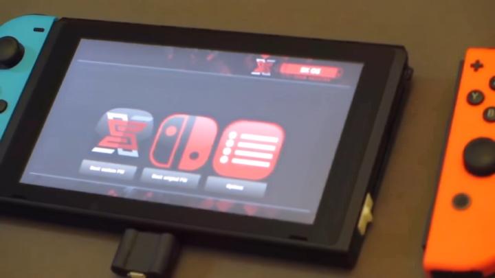 Switch 電子狗登場,免電腦啟動自製韌體還能執行遊戲