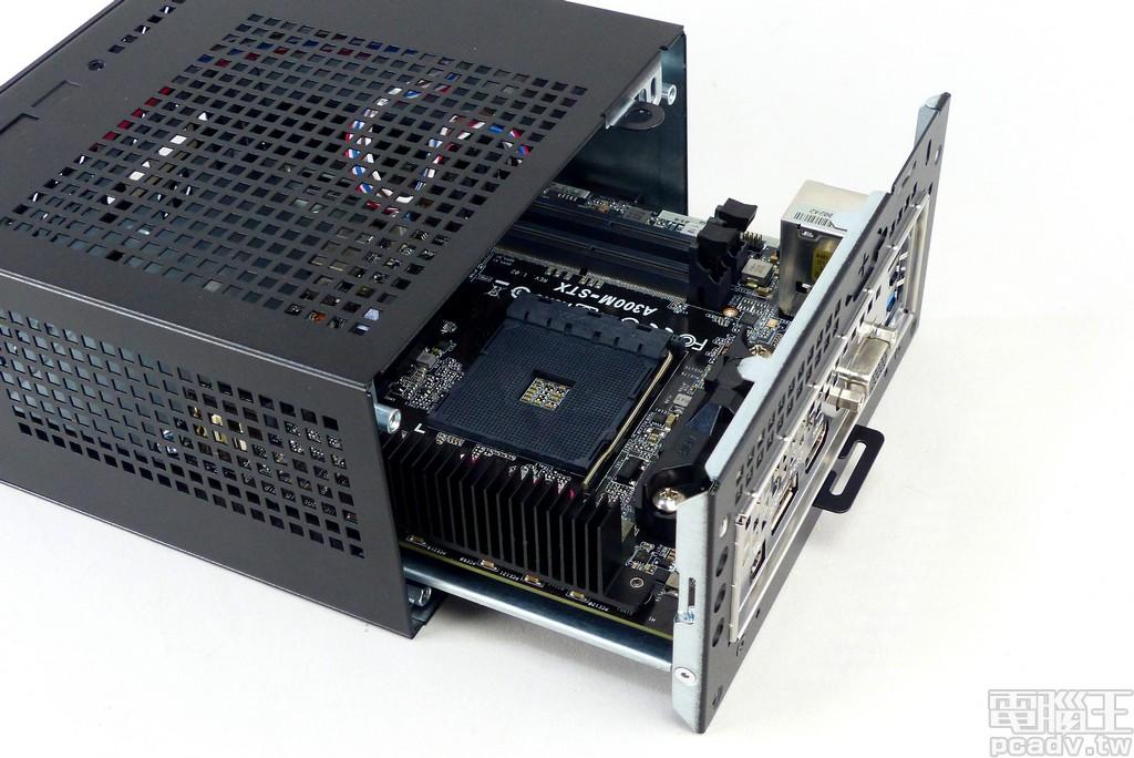 發揮Ryzen APU 高整合性優勢,ASRock DeskMini A300 Mini-STX 迷你準系統