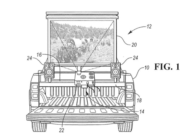 福特獲得新專利將皮卡車車廂變成了「派對�心」