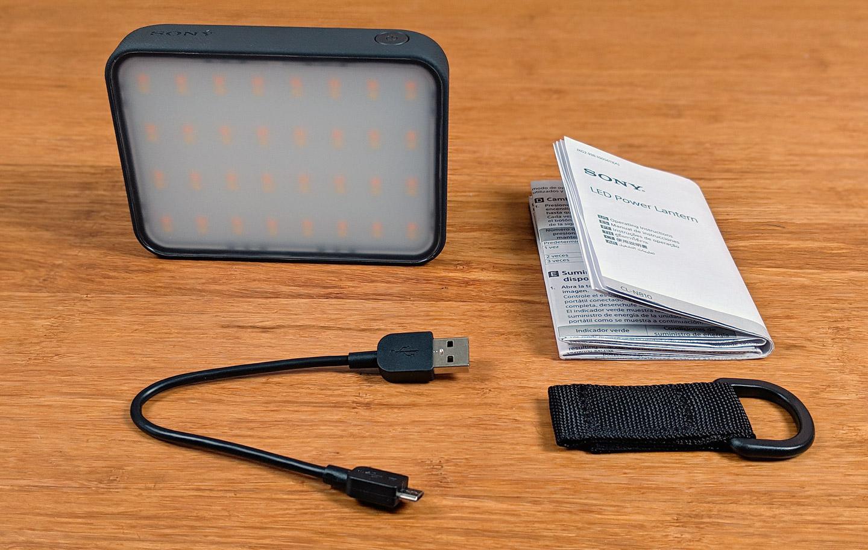 Sony LED Power Lantern CL-N810 搶先測:整合行動電源與照明的露營好物