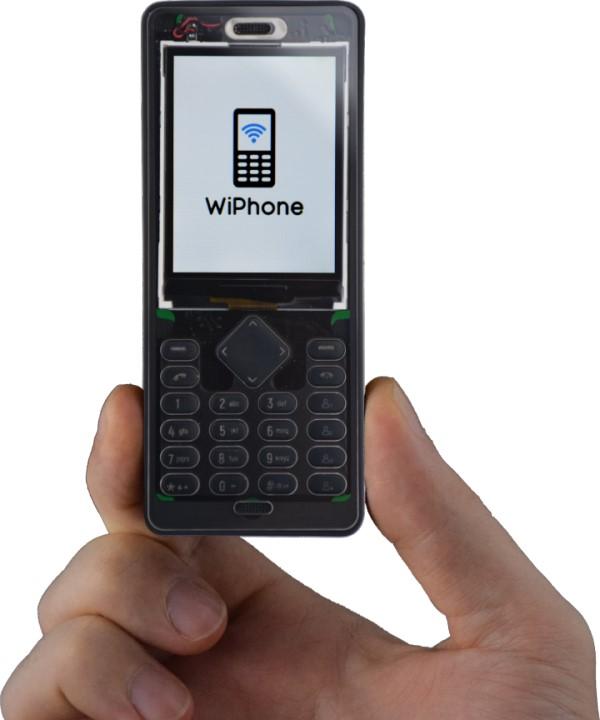 由�客開發、為�客�計的手機 WiPhone ,不但能土砲客製還能當開發板使用