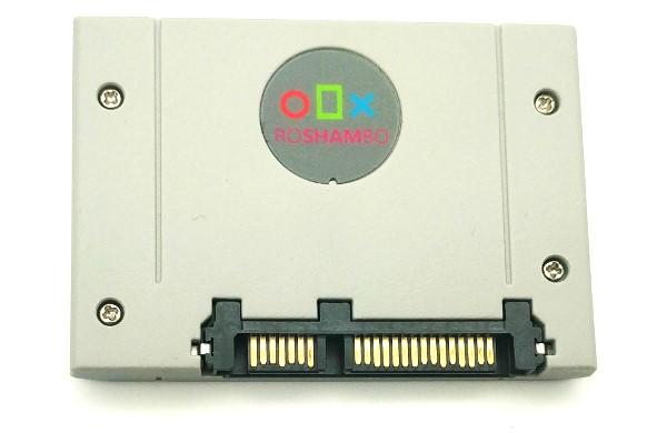 Roshambo懷舊主機外殼,外接式SSD神還原遊戲卡匣