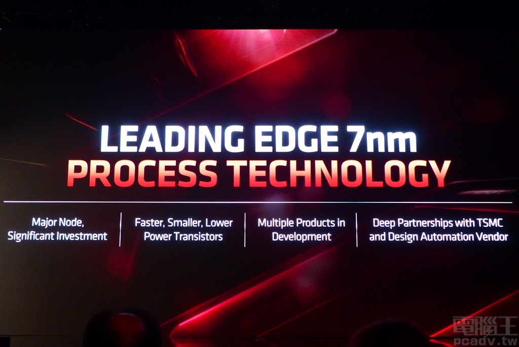 ▲ AMD 與 TSMC 在 7nm 製程技術保持深度合作,甚至是下一代 7nm+。
