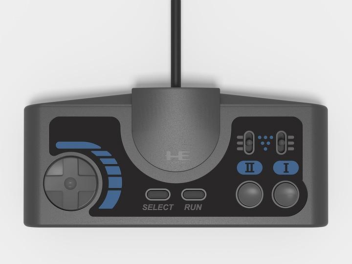 歐版手把造型與日版接近,但具連發功能。