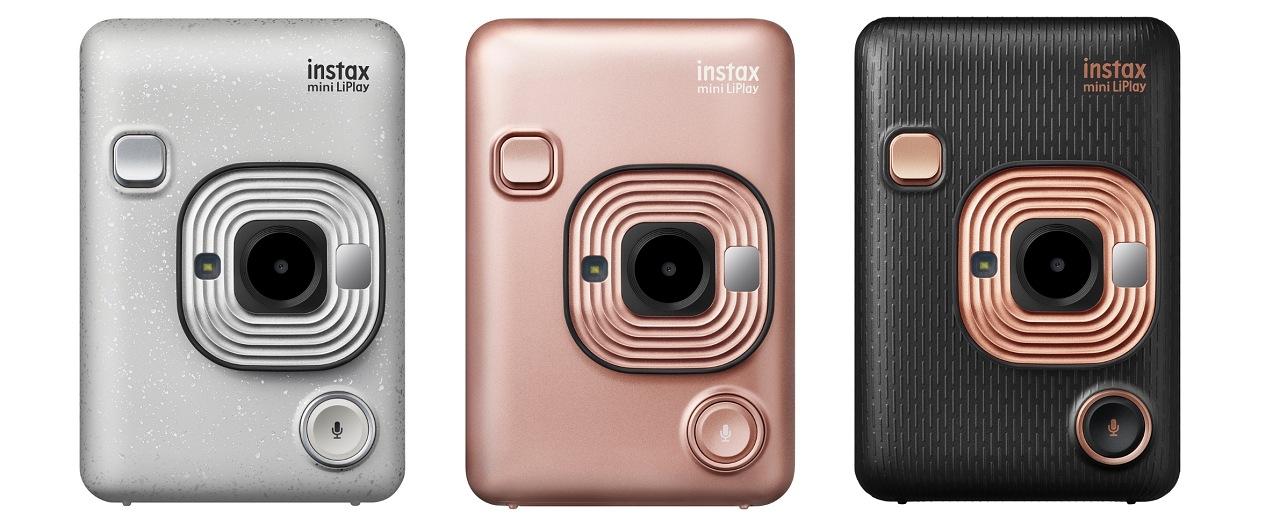 一台結合相機、拍立得、印相機三大功能,Fujifilm 富士推出 instax mini LiPlay 馬上看相機