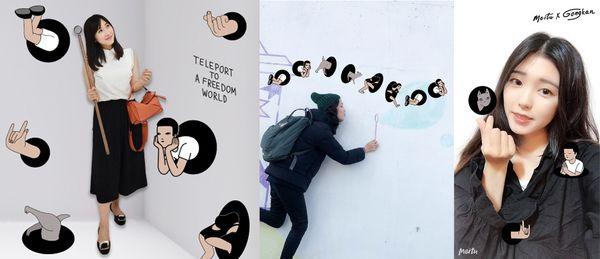 《美圖秀秀》攜手泰國當紅插畫家GongKan,打造全新文青打卡點