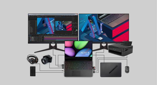 打造精準校色筆電,技嘉全新AERO 15 OLED至薄高效筆電上市