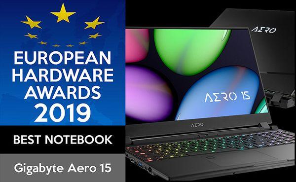2019 EHA歐洲電腦硬體類別獲得「最佳筆記型電腦」