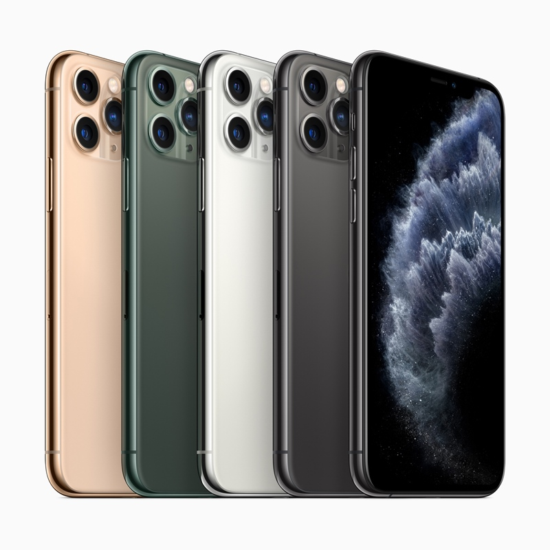 iPhone 11 Pro / 11 Pro Max 三鏡頭登場,磨砂機身、午夜綠新色