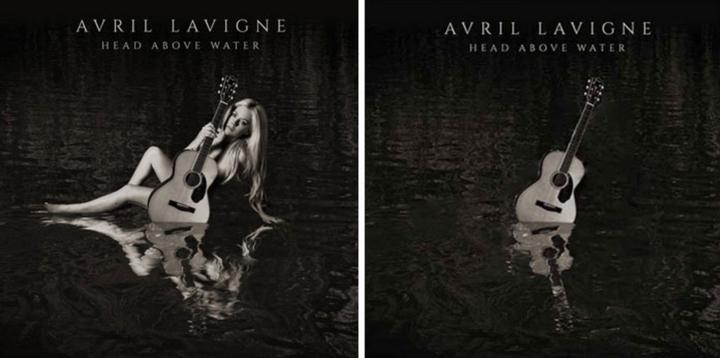 這家伊朗音樂網站,�在把所有含有女性的專輯封面照片全部PS掉