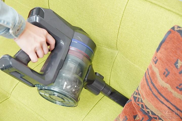 解決暗藏的毛髮和香灰! 超神高CP值 GPLUS GP-T09 無線手持吸塵器評測