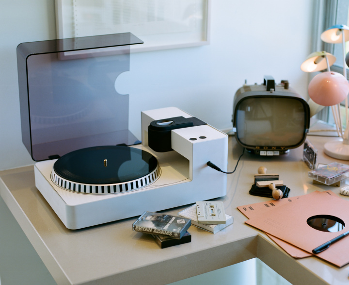 使用者可以透過Phonocut直接錄製黑膠唱片。