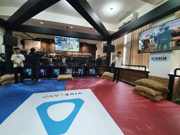 HTC、金門大�共闢新「視」野 打造全台首座MR+電競場域