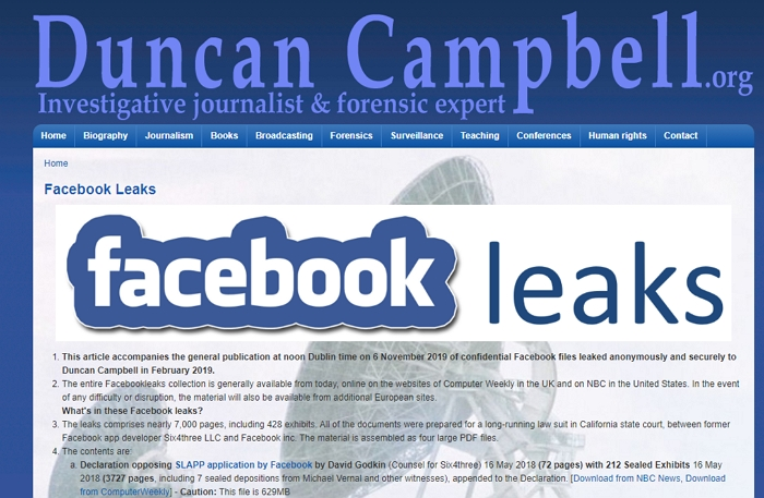 Facebook打壓對手7000頁機密文件被公開,揭穿如何以用戶數據為籌碼控制對手