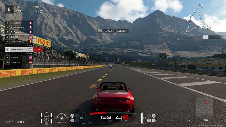 在《Gran Turismo SPORT》當�,不同車種的引擎聲都略有差異,但透過 A50 可以清楚地辨認出來。