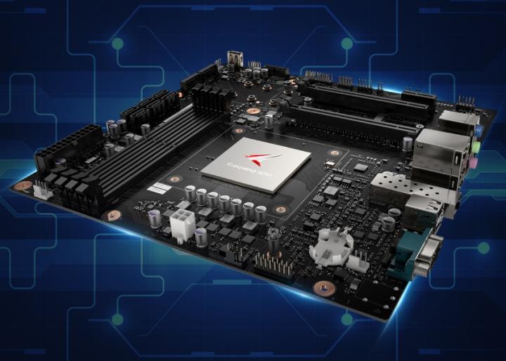 顧名思義,Kunpeng Desktop Board就是�載Kunpeng 920 Arm的主機板。