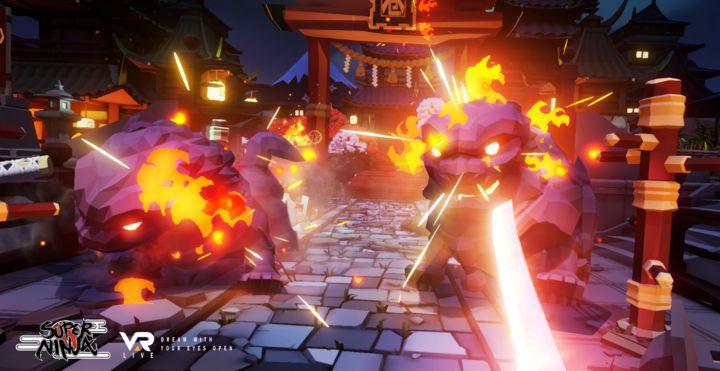 VAR LIVE第 18 彈《卷之守護者 SUPER NINJA》推出,搭配專屬刀柄控制器,化身忍者擊退惡鬼