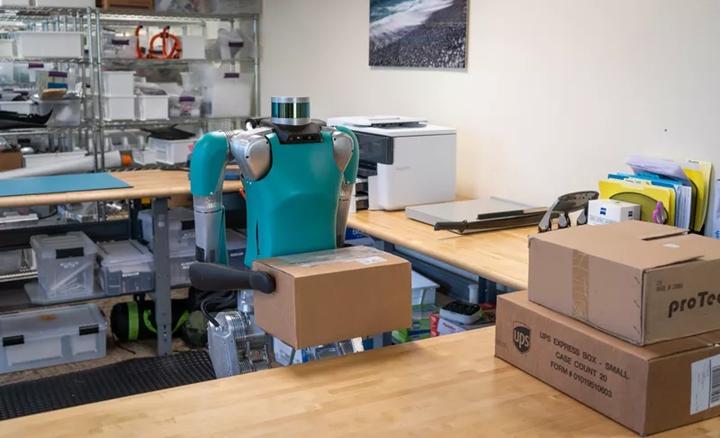 首款商�化兩足機器人發售 能搬箱�售價幾十萬美元