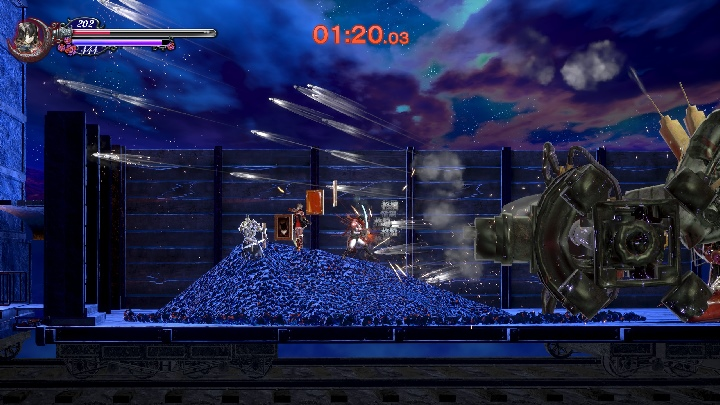 攻略過程�還有個段落會NPC角色與玩家一同共鬥,相當新鮮。