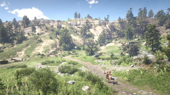 遊戲場景相當壯闊,並具有多樣的生態環境。