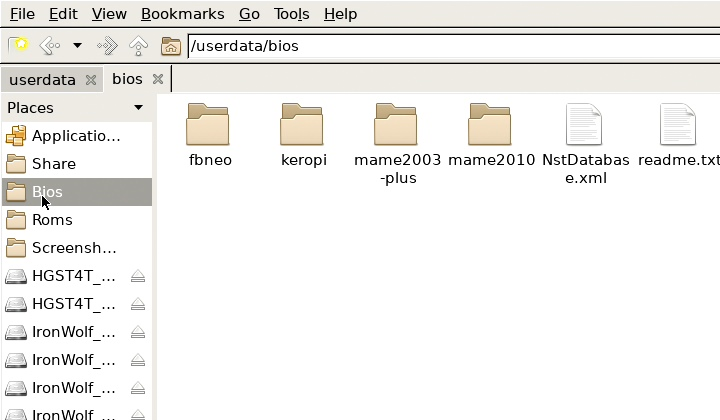 BIOS檔案則需放到bios資料夾�。