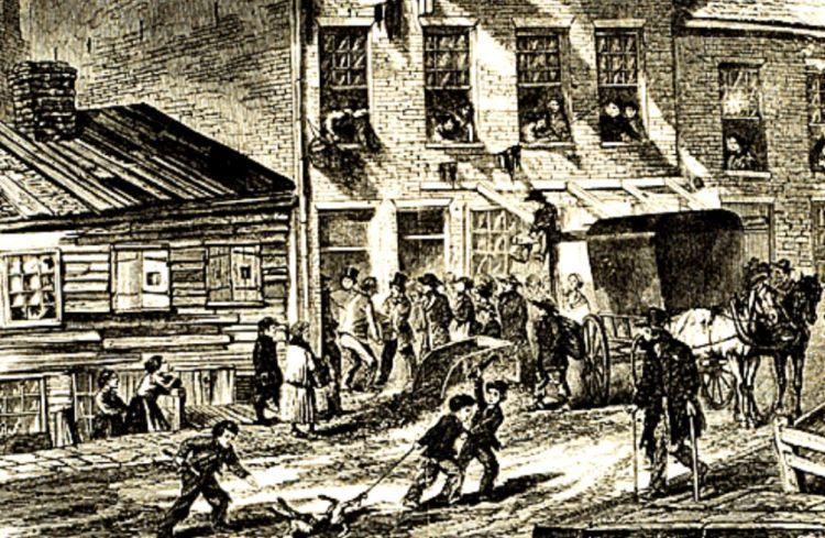 1800年代的約克城