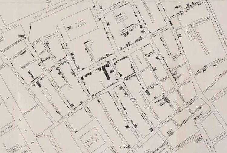 約翰·雪諾當時所畫的�亡地圖