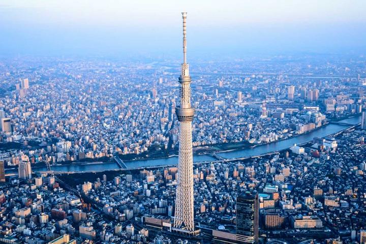 人口接近3000萬的超級大都市—東京