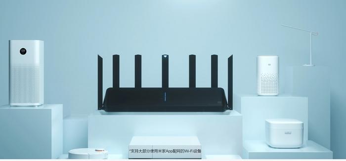 小米首款Wi-Fi 6路由器AX3600�式發佈,售價