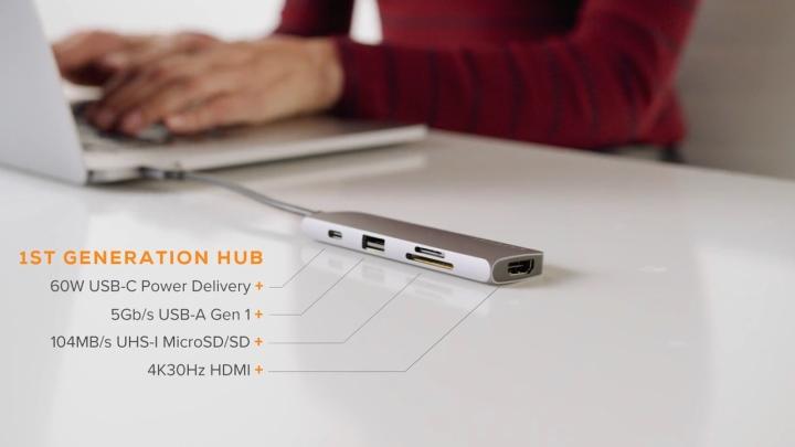目前市面上的USB擴充底座大多僅支援USB 3.2 Gen1傳輸模式。