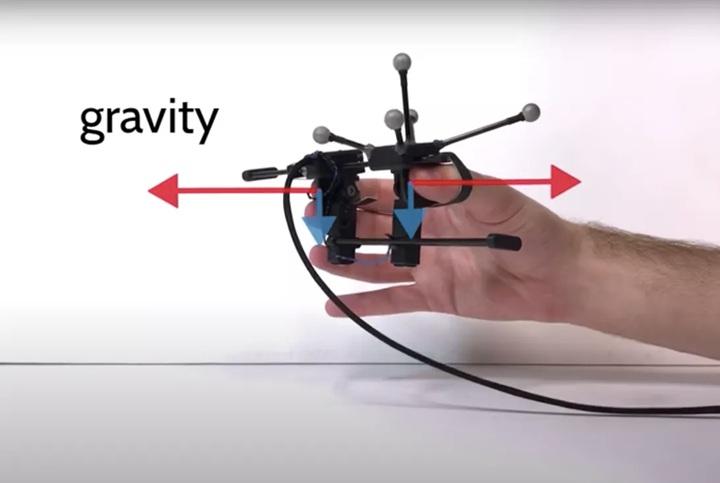 VR控制器Grabity是與史丹佛大�研究人員合作的項目。