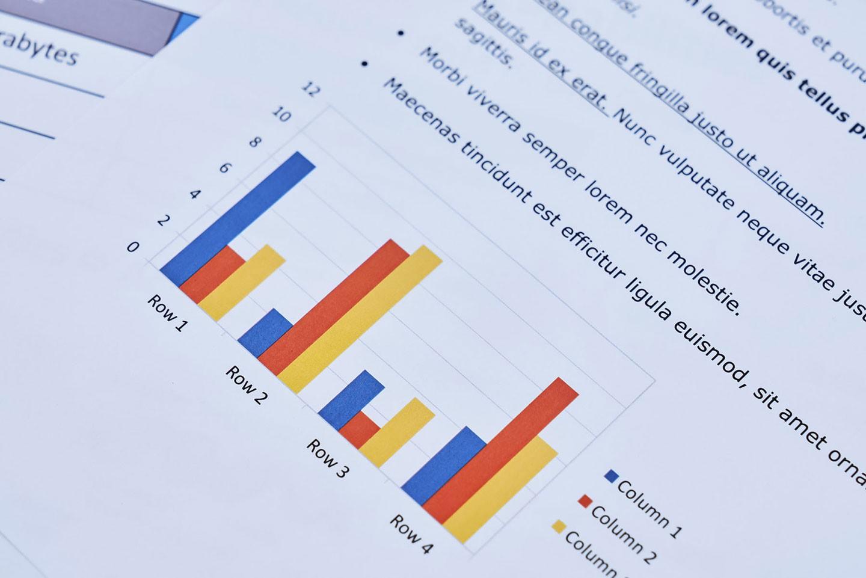 不同色彩的圖表也都相當分明,進一步提升閱讀性。