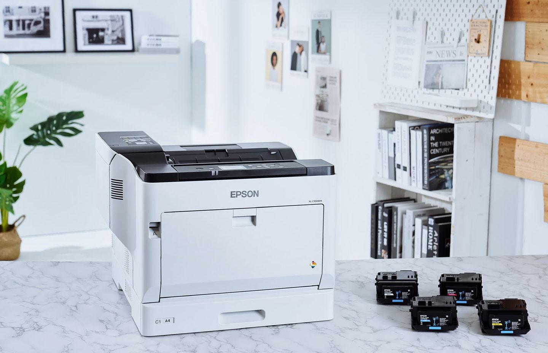 AL-C9500DN 搭配了新款碳粉匣,以黑色標準碳粉匣來說,企業最常列印的黑白文件總印量增加超過 50% 之多,高容量款的印量更是「以一敵三」。