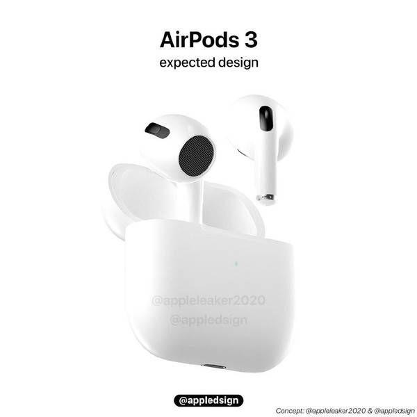 終於更新的AirPods 3外觀將重新�計,規格、爆料回顧