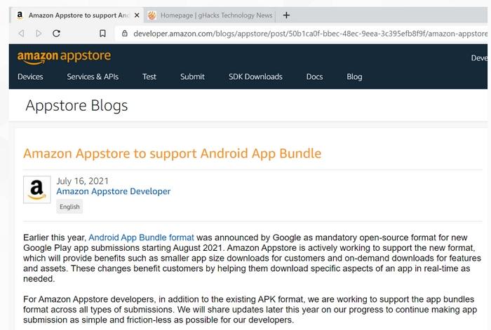 Google用AAB取代Android APK 讓Windows 11的Android支援生變?亞馬遜表示會搞定